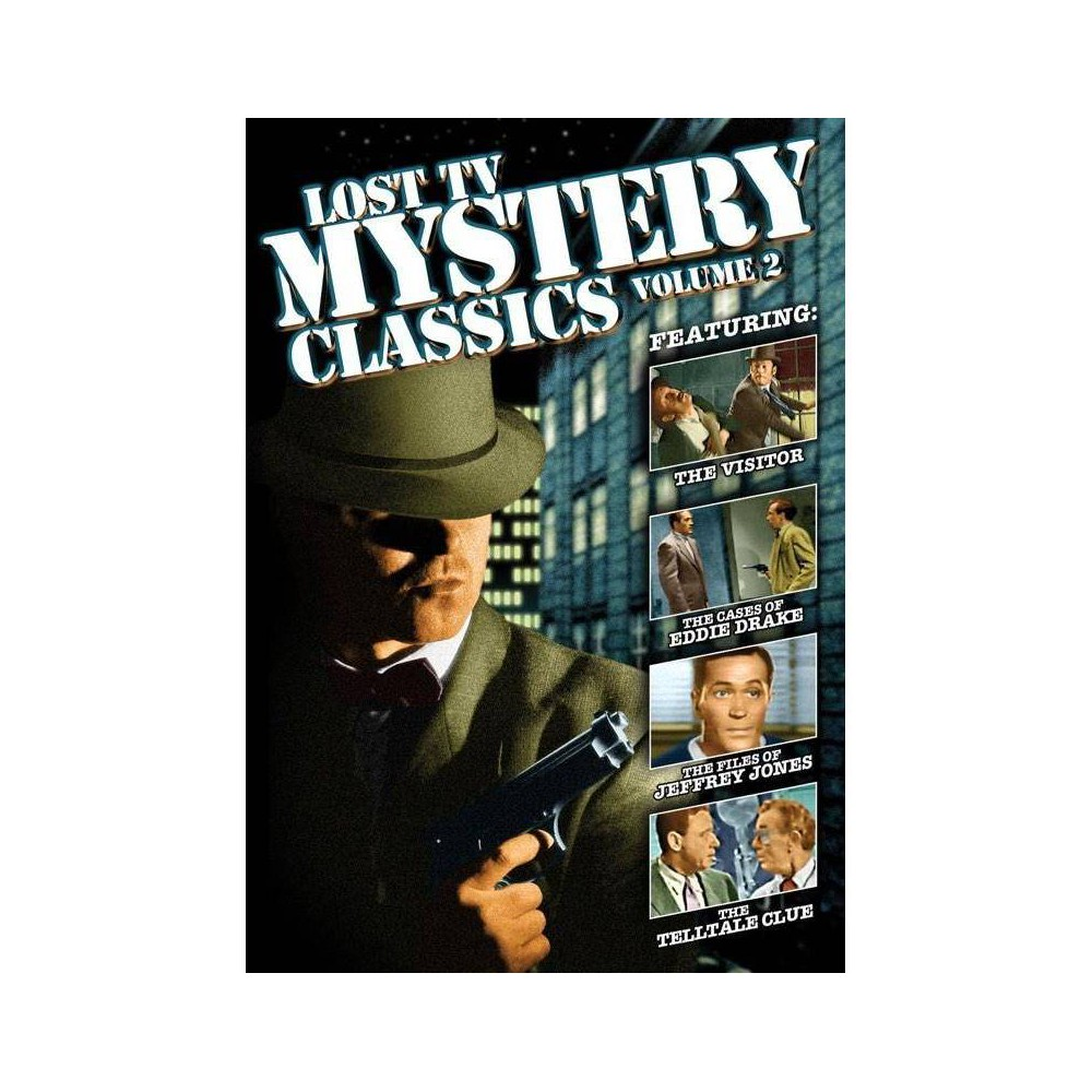 Lost Tv Mystery Classics Volume 2 Dvd