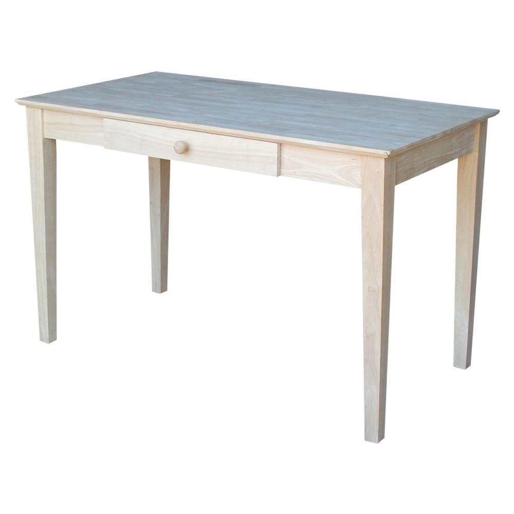 Writing Desk Unfinished - International Concepts