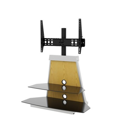 """4 Color Changeable Mount with TV Stand for TVs up to 90"""" - AVF"""