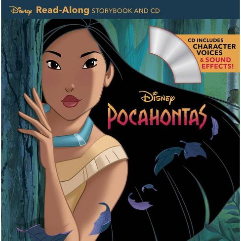 Pocahontas Read-Along Storybook & CD - (Read-Along Storybook and CD) (Paperback) - image 1 of 1