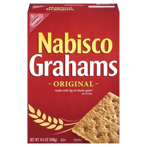 nabisco grahams original crackers 14 4oz target