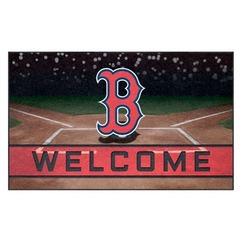 "MLB Boston Red Sox Crumb Rubber Door Mat 18""x30"" - image 1 of 1"