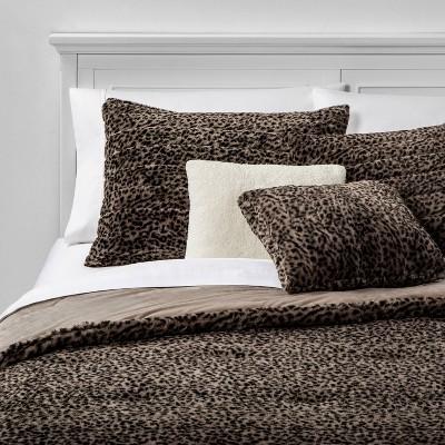 Full/Queen Whistler 5pc Bed Set Set Leopard