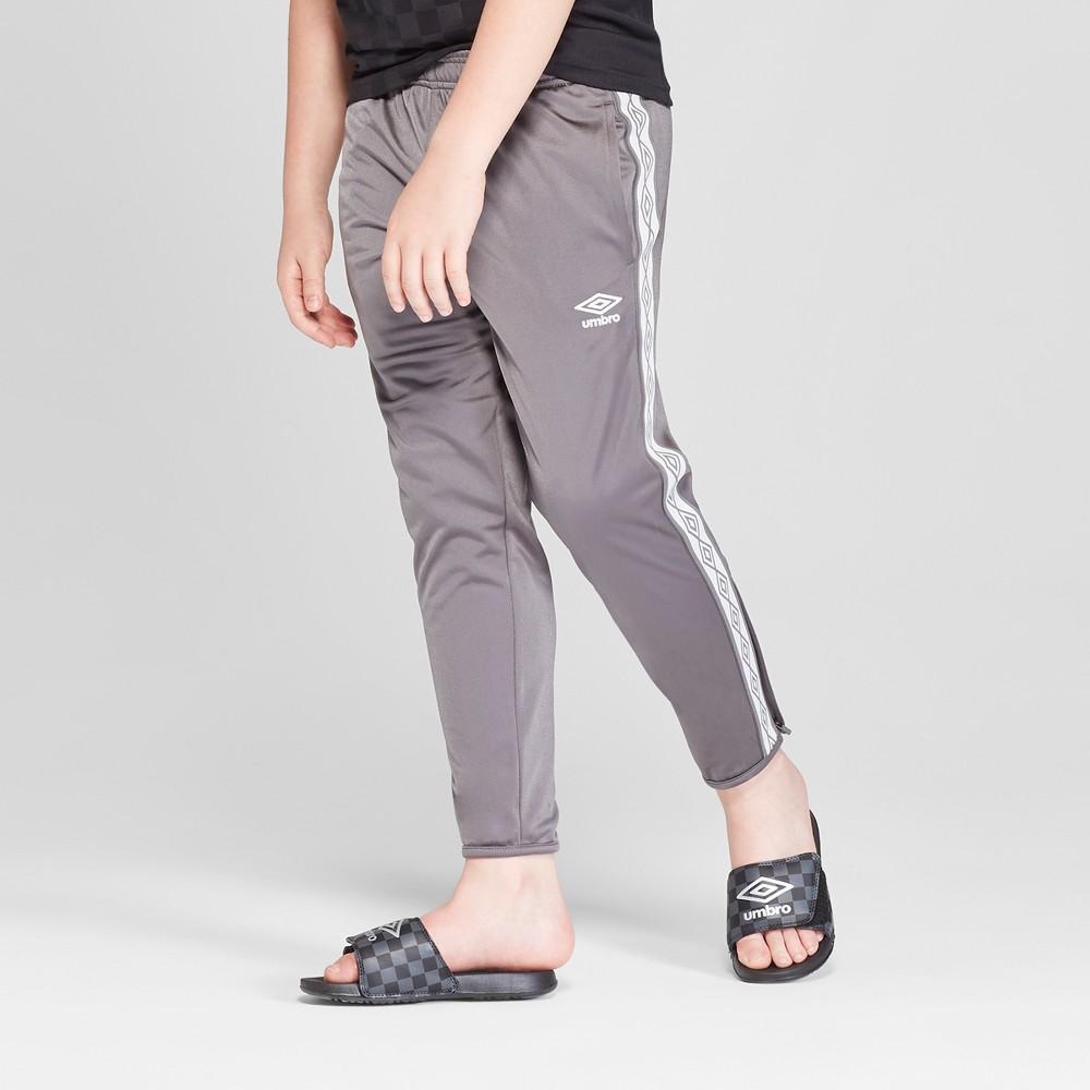 Umbro Boys' Double Diamond Track Pants - Industrial Gray M