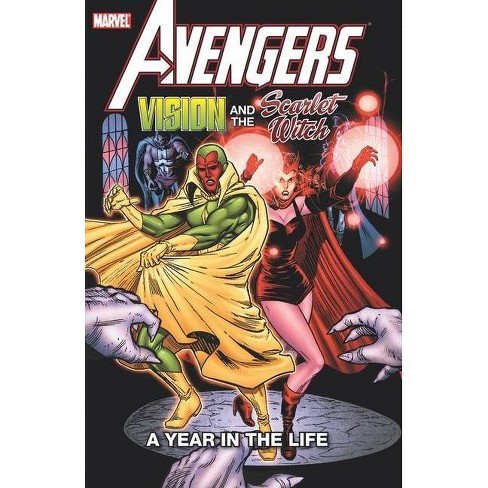Avengers: Vision & The Scarlet Witch - A Year In The Life - (Paperback) :  Target