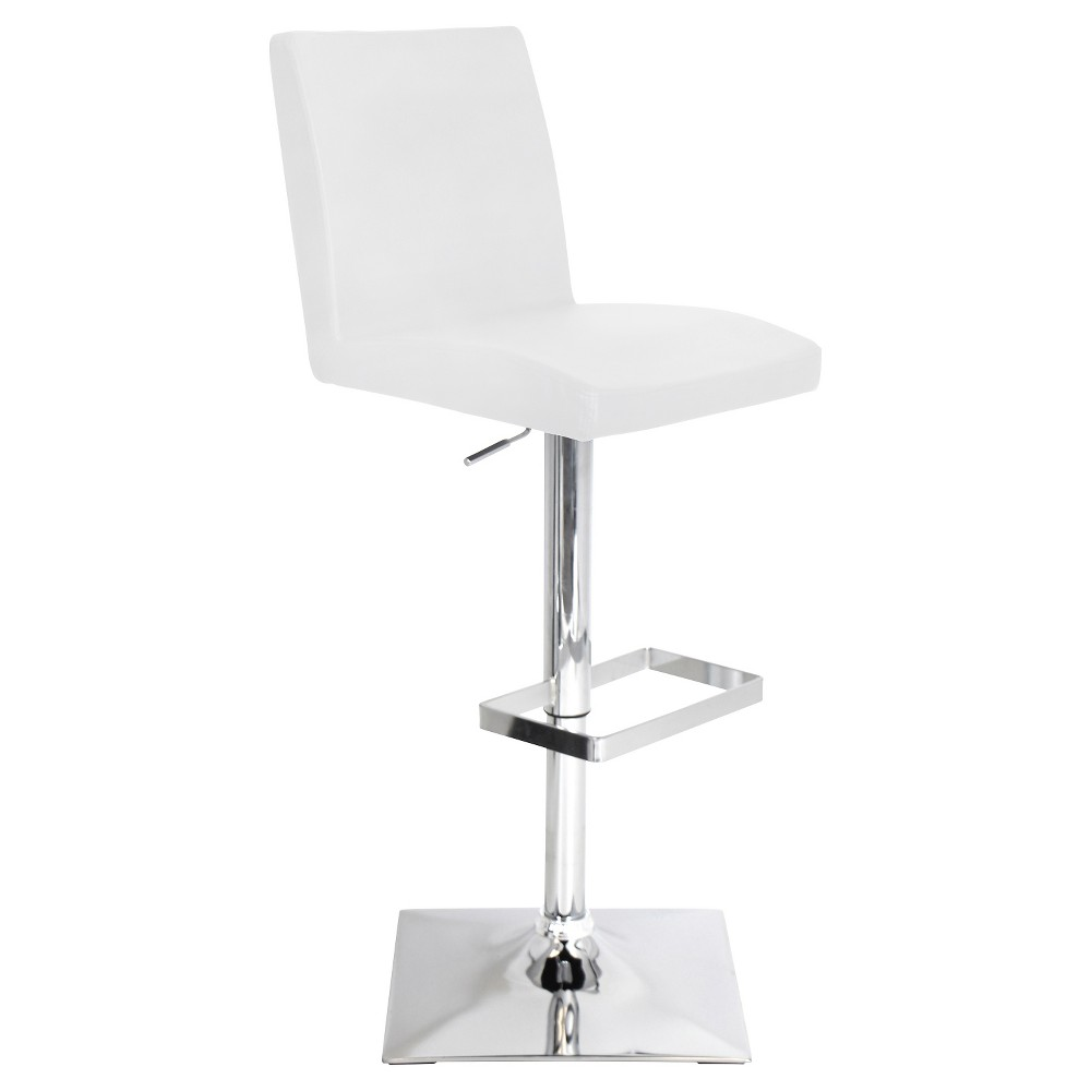 Captain 32 Barstool Metal/White - LumiSource