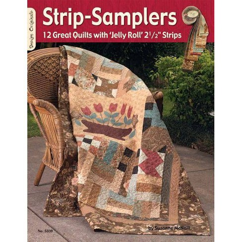 Strip Samplers - by  Suzanne McNeill (Paperback) - image 1 of 1