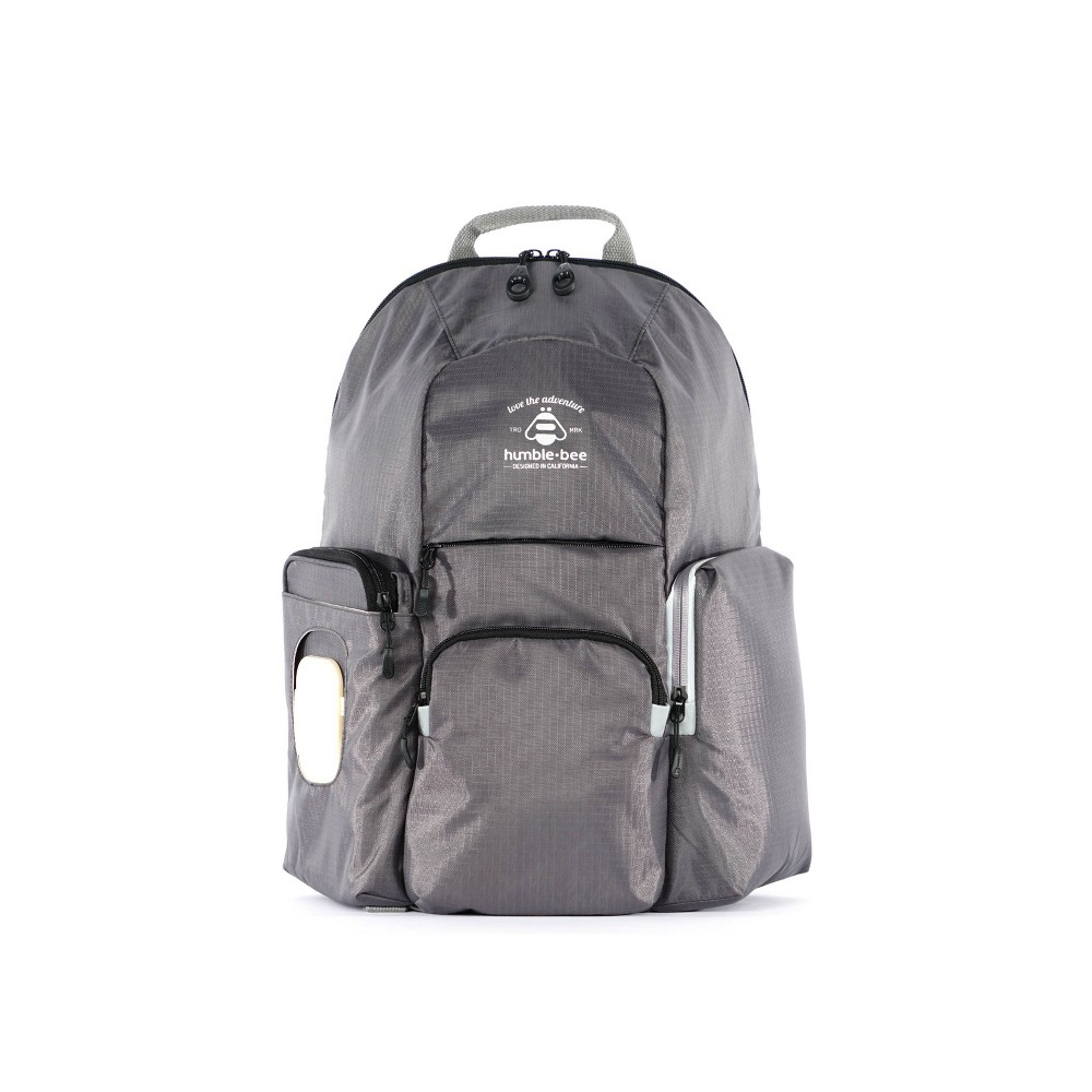 Image of Humble-Bee Free Spirit SP Diaper Backpack - Pebble