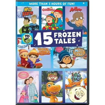 PBS Kids: 15 Frozen Tales (DVD)(2020)