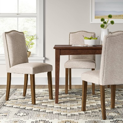 Camelot Nailhead Dining Chair - Threshold™ : Target