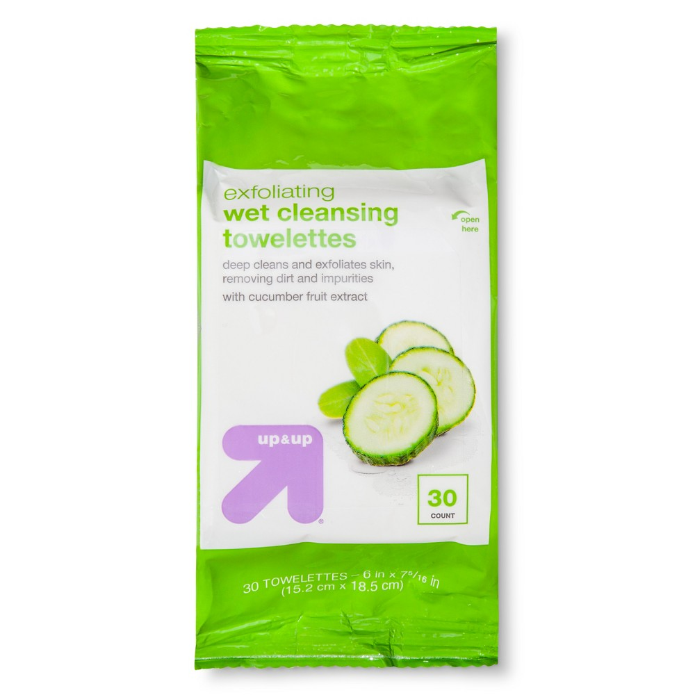 Exfoliating Cleansing Towelettes 30 ct - Up&Up