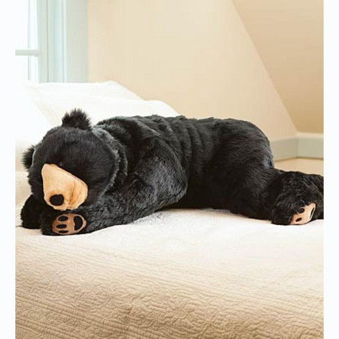 Super Soft Bear Hug Body Pillow with Realistic Features - Plow & Hearth - image 1 of 3