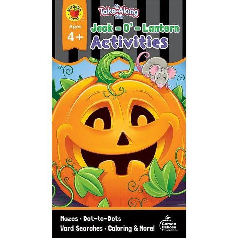 My Take-Along Tablet Jack-O'-Lantern Activities, Ages 4 - 5 - (Paperback) - image 1 of 1