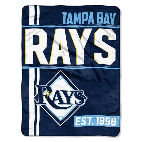 MLB Tampa Bay Rays Micro Fleece Throw Blanket - image 1 of 1