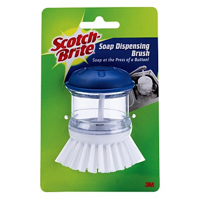 Scotch-Brite Soap Dispensing Pump Brush