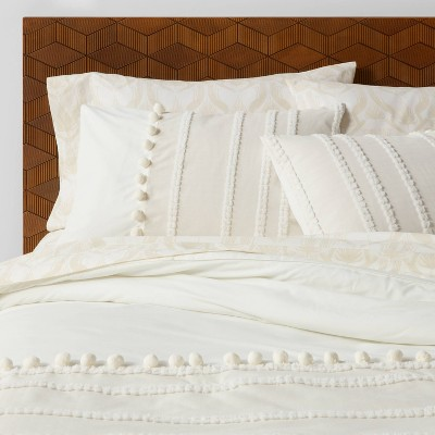Cicely Clipped  Stripe Comforter Set with Sheets - Opalhouse™