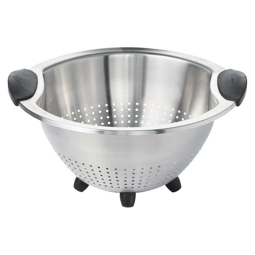 Image of OXO 3Qt Stainless Steel Colander, Silver