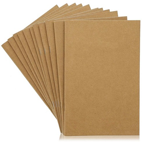 """24-Pack Kraft Journal Bulk, Blank Notebook for Drawing & Class Projects, 5.5"""" x 8.5"""", A5 Sized, 24-Sheet Each - image 1 of 4"""