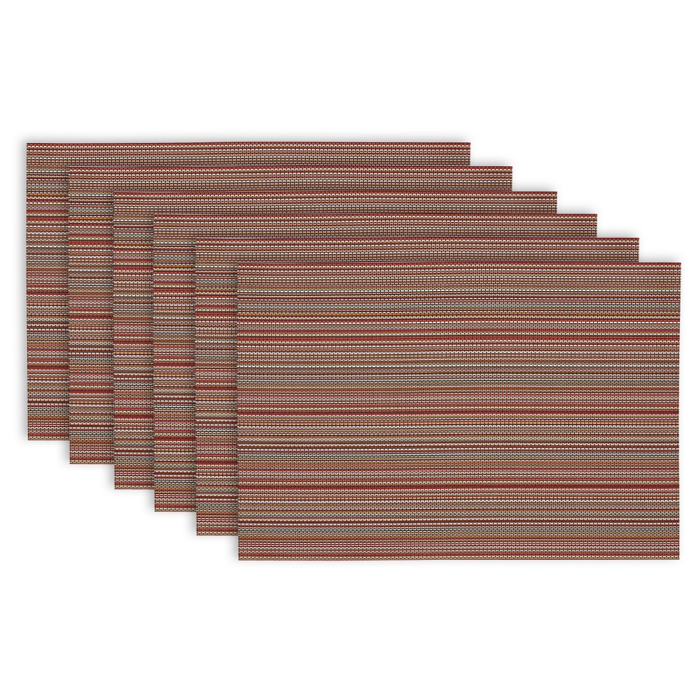 "Image of ""6pk Brown Placemat 13""""x19"""" - Design Imports"""