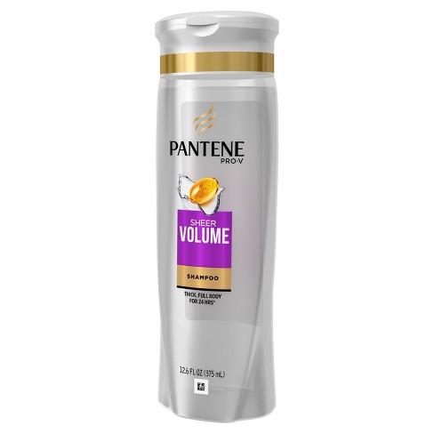 pantene pro v sheer volume shampoo target