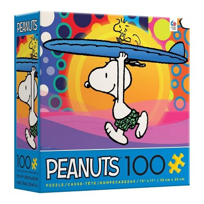 Ceaco Peanuts: Surf City Jigsaw Puzzle - 100pc