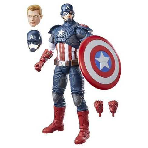 Marvel Legends Series 12-inch Captain America - image 1 of 16