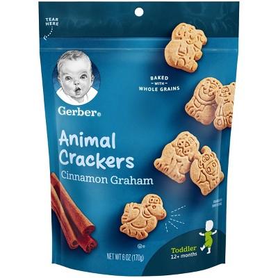 Baby & Toddler Snacks: Gerber Animal Crackers