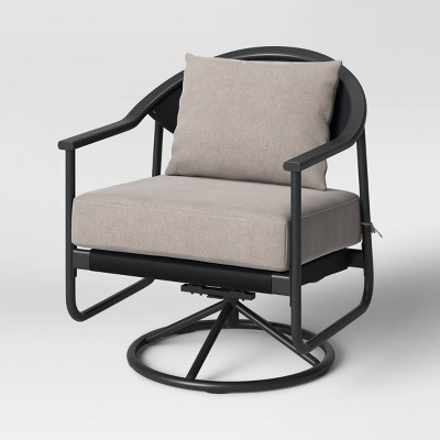 2pk Dekker Swivel Patio Rocking Chairs - Project 62™