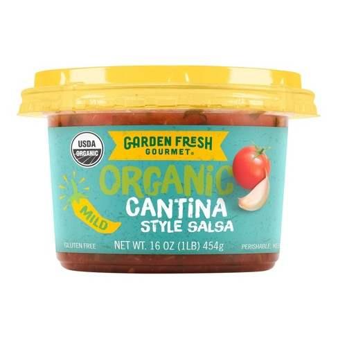 garden fresh gourmet organic cantina style salsa mild 16oz target - Garden Fresh Gourmet