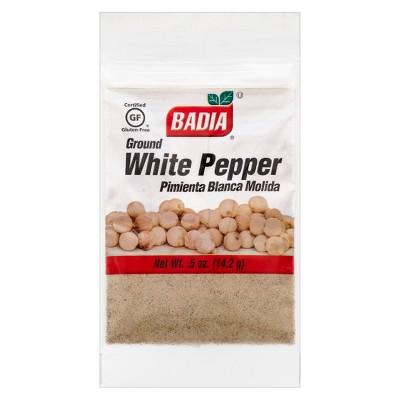 Badia Ground White Pepper - .5oz