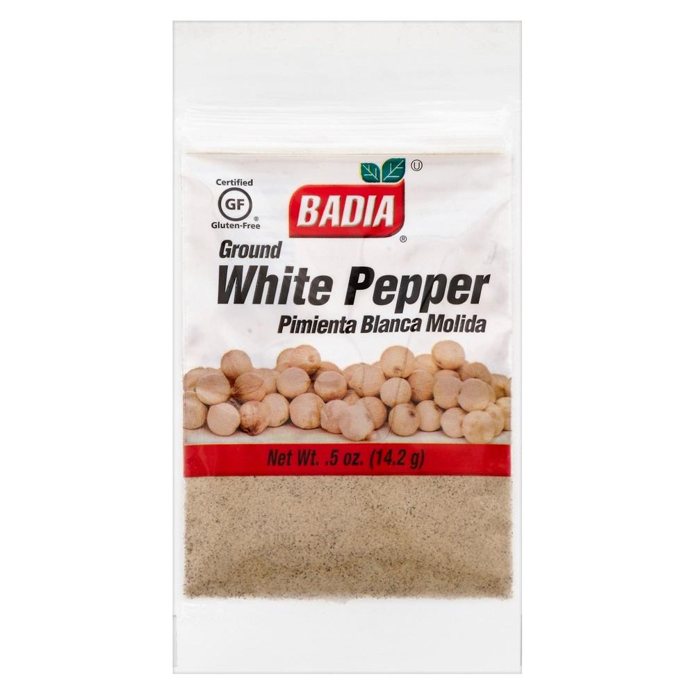 Badia Ground White Pepper 5oz