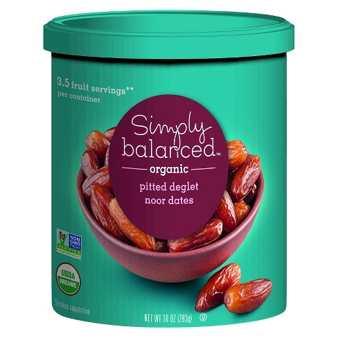 Organic Pitted Dates - 10oz - Simply Balanced™ - image 1 of 1