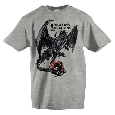 Youth Boys Dungeons and Dragons Shirt Graphic Tee