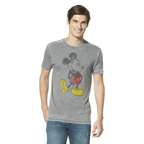 9a059ceb15 Men's Mickey Mouse T-Shirt - Gray