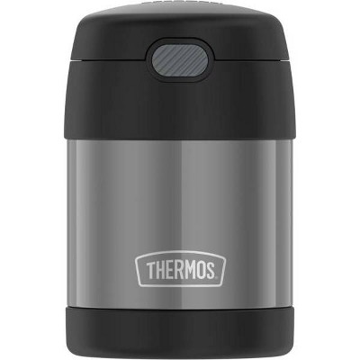 Thermos 10oz FUNtainer Food Jar with Spoon - Charcoal