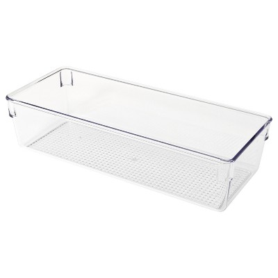 In Drawer Storage Tray Clear 5 x12 x3  - Merrick