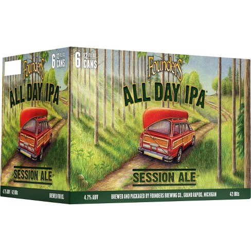 Founders All Day IPA Beer - 6pk/12 fl oz Cans - image 1 of 2