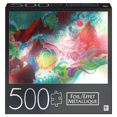 Cardinal Milton Bradley There is a Radiance Foil Puzzle - 500pc