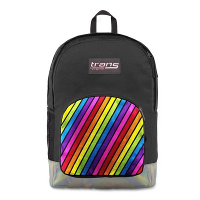 "Trans by JanSport 17.5"" Overt Backpack - Iridescent Rainbow"