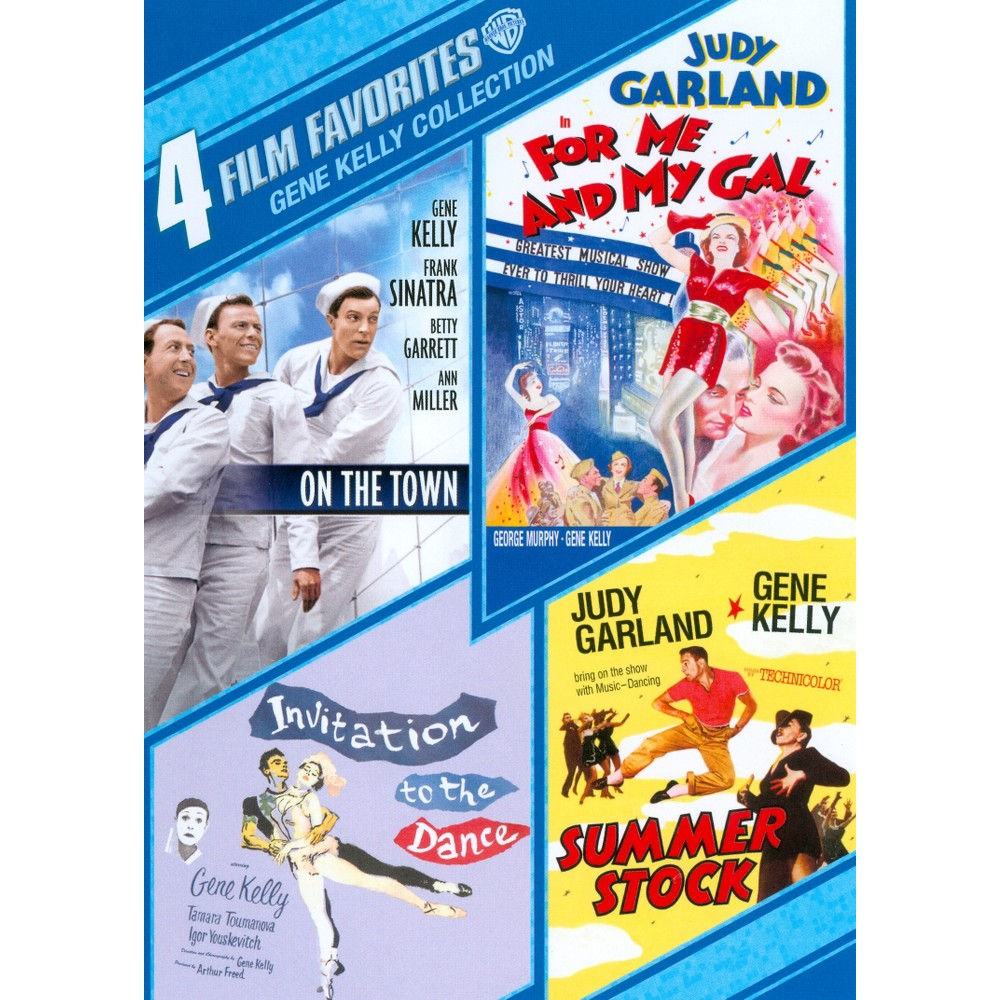 4 Film Favorites:Gene Kelly Collectio (Dvd)