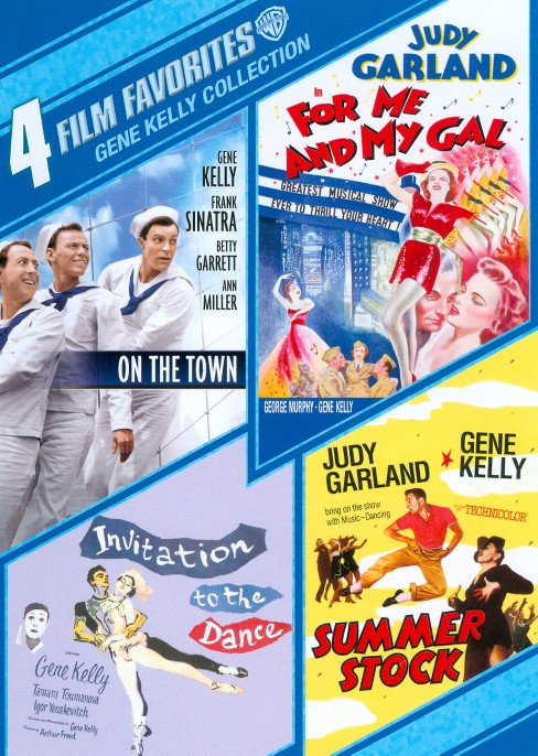 4 film favorites:Gene kelly collectio (DVD) - image 1 of 1
