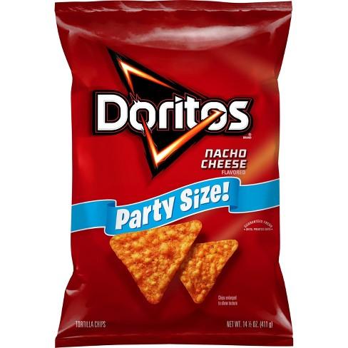 Doritos Nacho Cheese Flavored Tortilla Chips - 15.5oz - image 1 of 4