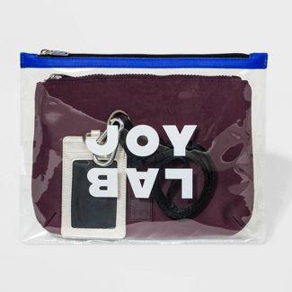 Zip Closure Wristlet - JoyLab™ Burgundy
