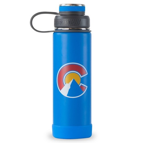 Ecovessel 20oz Insulated Water Bottle With Stainless Steel Dual Opening Lid Colorado Target