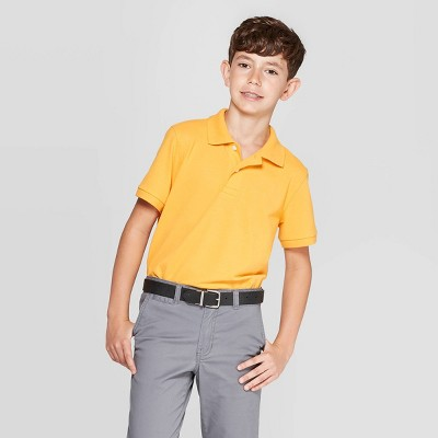 8f4a3fd8658d Boys' Uniform Short Sleeve Pique Polo Shirt - Cat & Jack™ : Target