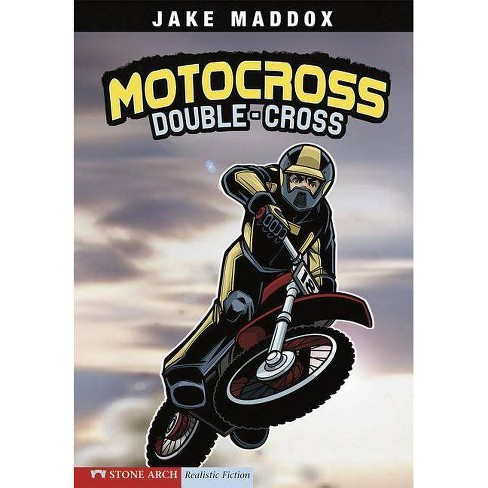 Motocross Double-Cross - (Impact Books) by  Jake Maddox (Paperback) - image 1 of 1