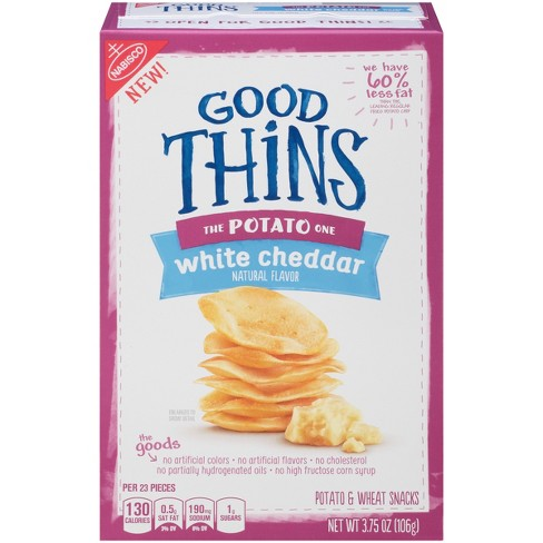 Good Thins: The Potato One - White Cheddar Crackers - 3.75oz - image 1 of 4