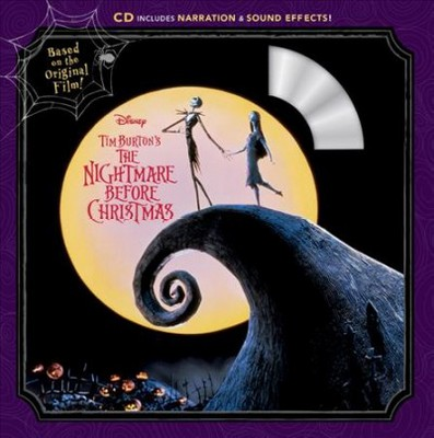 Nightmare Before Christmas Read-Along Storybook and CD