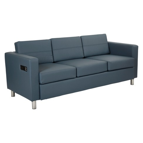 Atlantic Sofa With Dual Charging Station Ave Six
