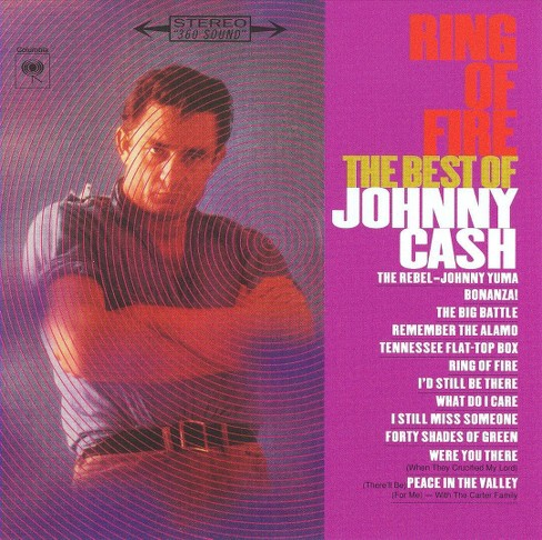 Johnny Cash - Ring Of Fire/The Best Of Johnny Cash (CD) - image 1 of 2